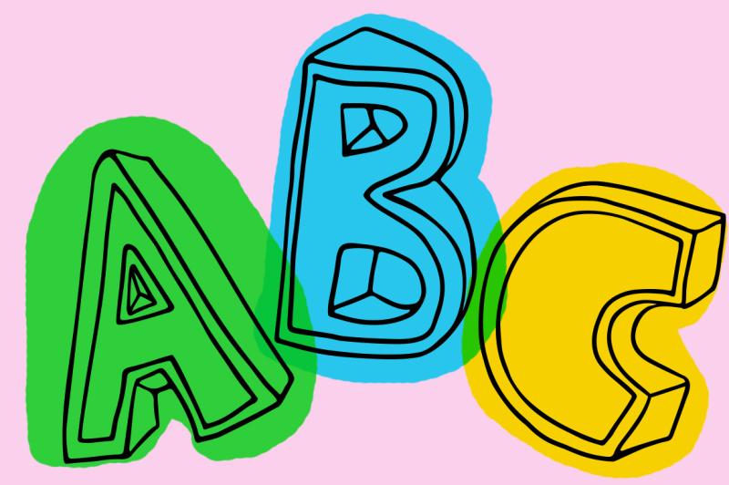 3d-style-sketch-font