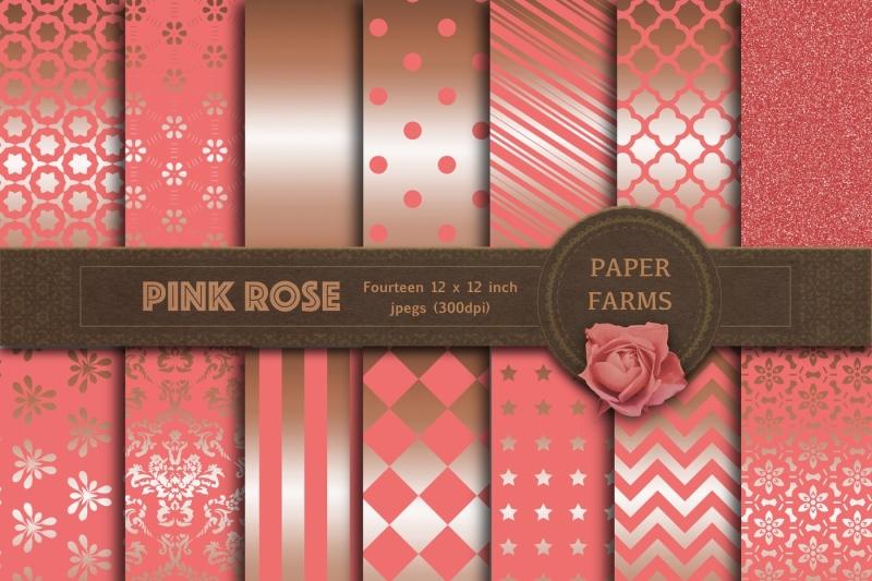 pink-rose-gold-digital-paper