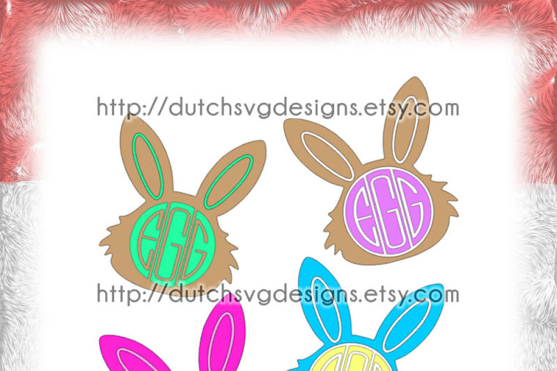2-easter-bunny-monogram-frame-cutting-files-in-jpg-png-studio3-svg-eps-dxf-for-cricut-and-silhouette-easterbunny-initials-clipart-vector