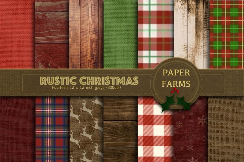 rustic-christmas-digital-paper