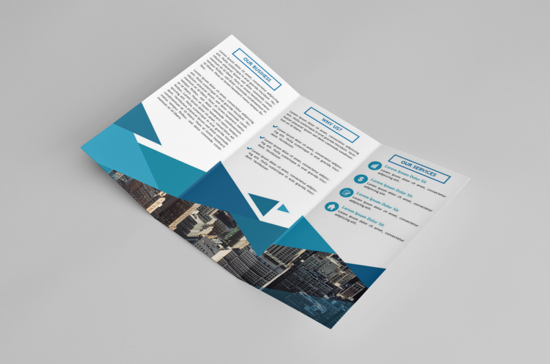 business-triangle-trifold