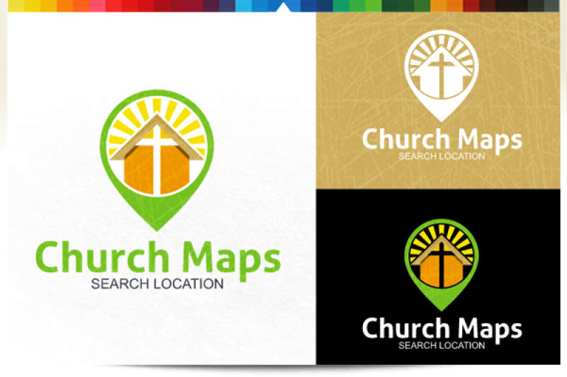 church-maps