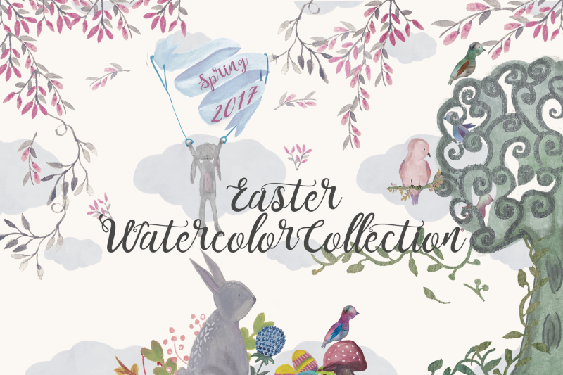 easter-watercolor-collection