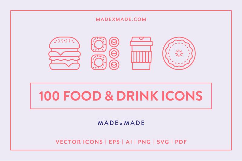 line-icons-ndash-food-amp-drink