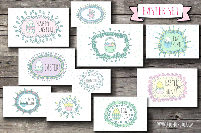 70-hand-drawn-easter-elements