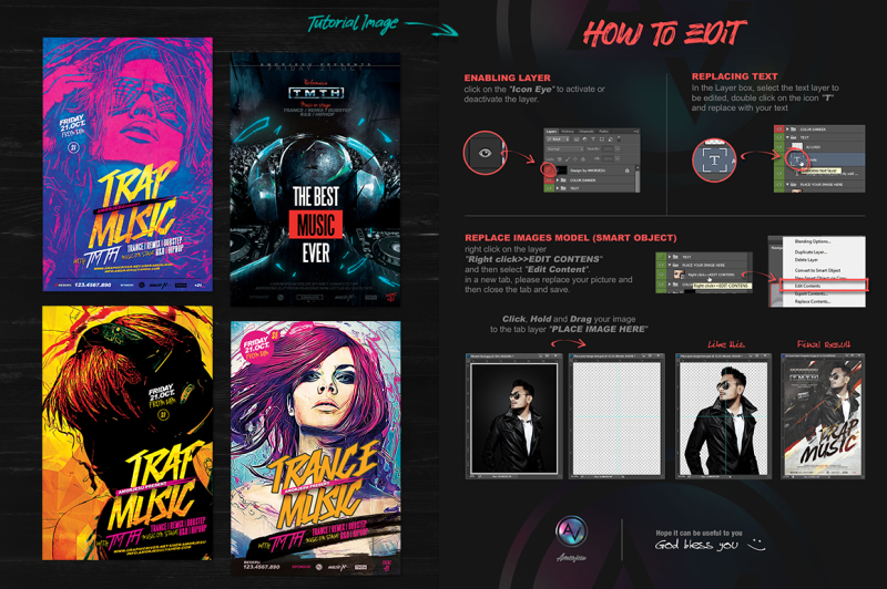 flyer-templates-and-model-stock-bundle