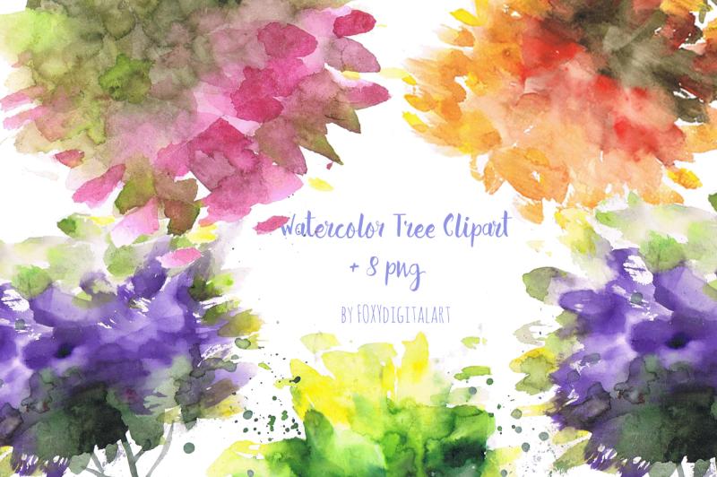 watercolor-tree-clipart