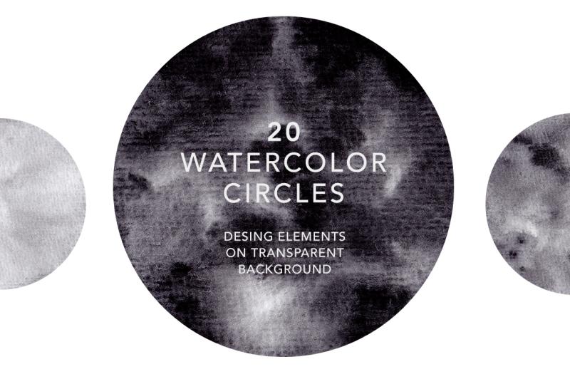 watercolor-circles-black-collection