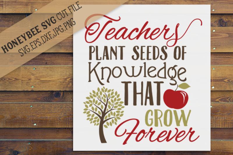 teachers-plant-seeds-of-knowldege-cut-file