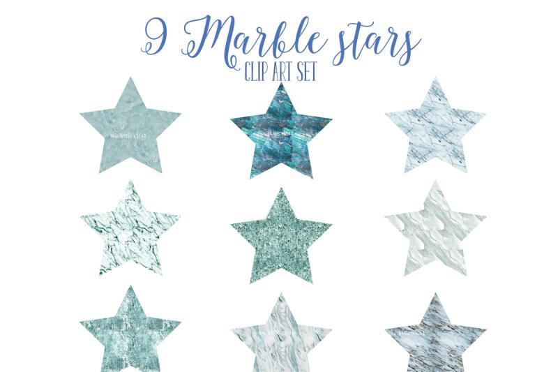 blue-marble-stars-set-1