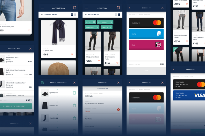 monsieur-mobile-e-commerce-ui-kit