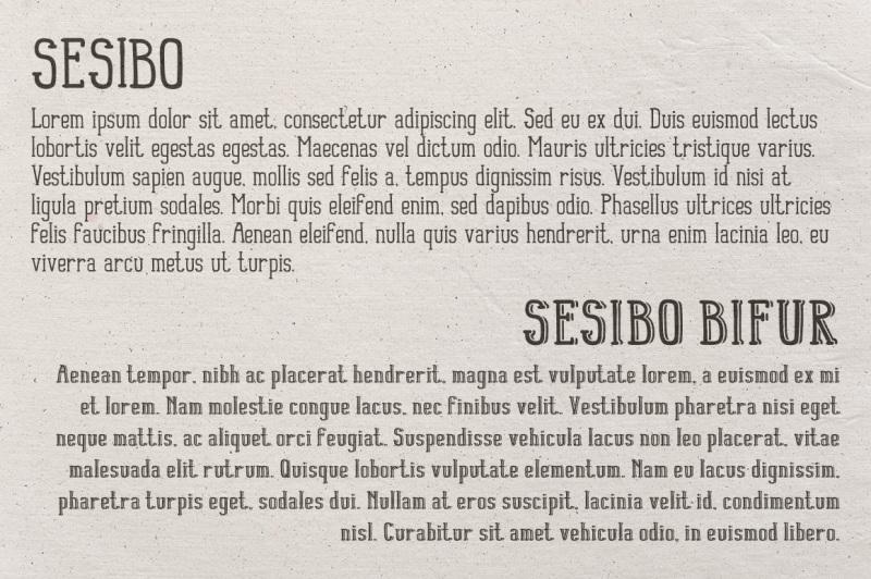sesibo-fonts
