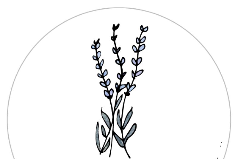 lavender-gardening-label