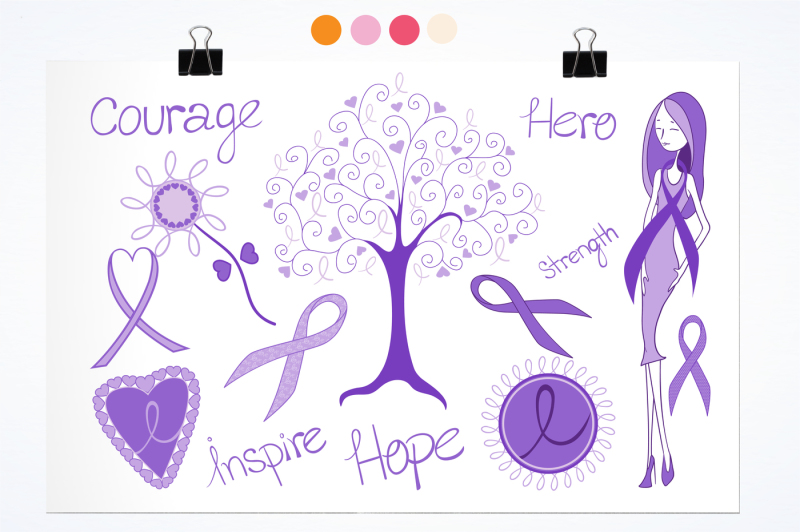 cancer-courage-graphics-and-illustrations
