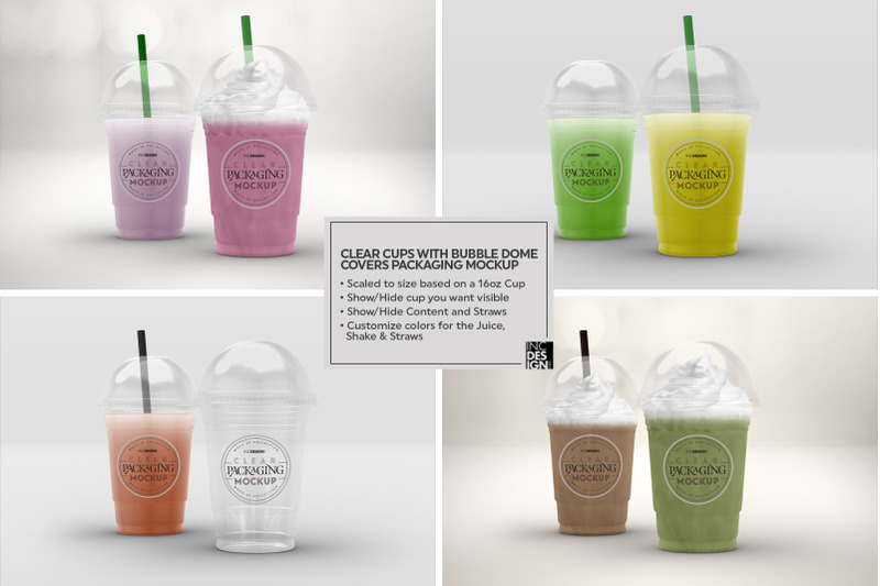 Download Glossy Plastic Cups Mockup Yellowimages