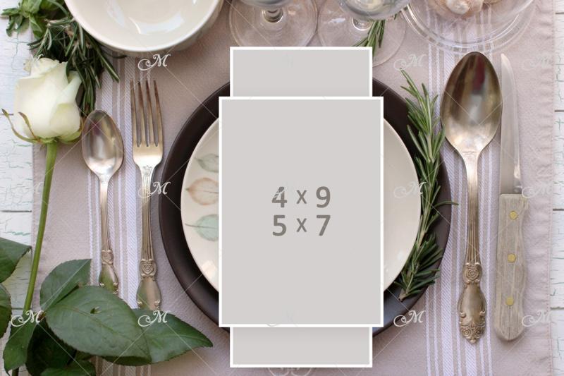 Free PSD table Card Mockup (PSD Mockups)