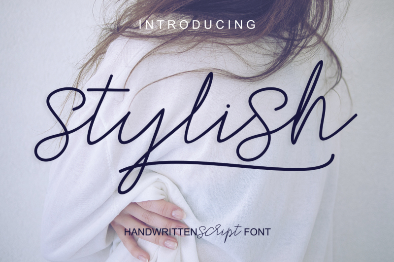 stylish-script