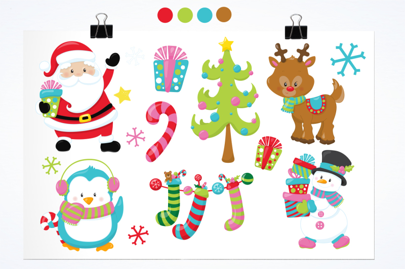 christmas-friends-graphics-and-illustrations