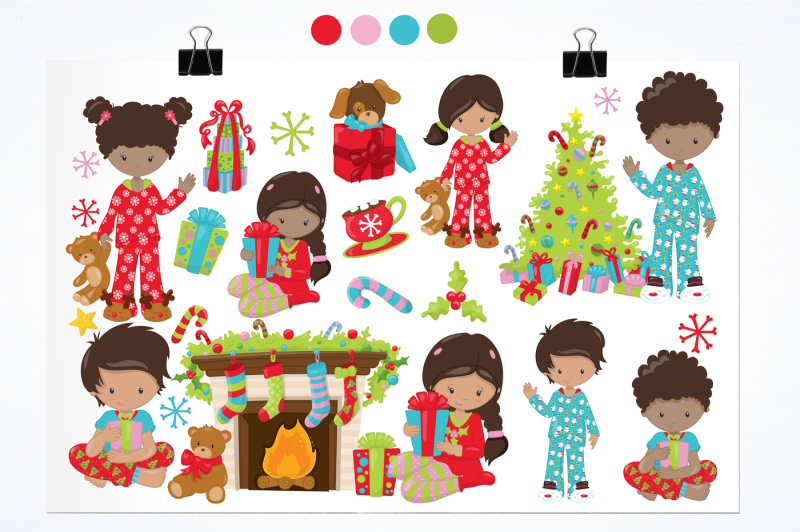 christmas-morning-graphics-and-illustrations