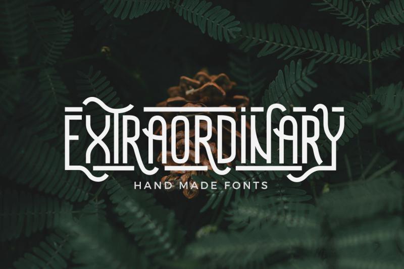 extraordinary-handmade-font