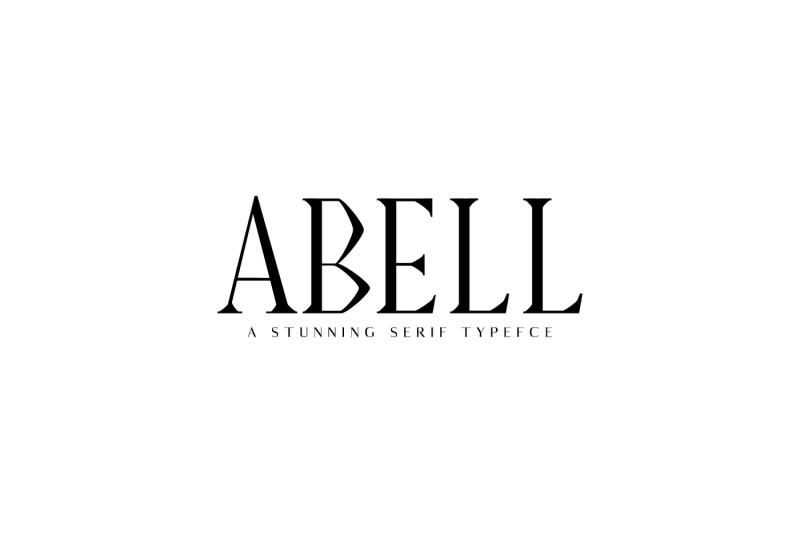 abell-serif-typeface