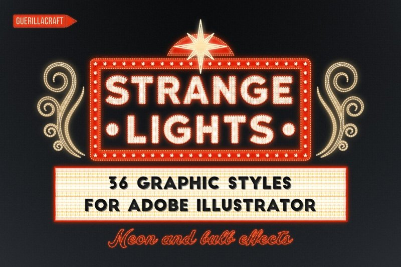 strange-lights-for-adobe-illustrator