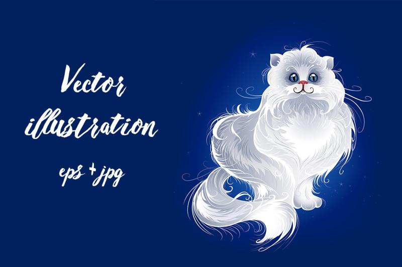 magic-white-persian-cat