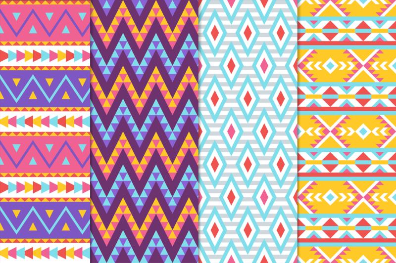 16-geometric-seamless-patterns