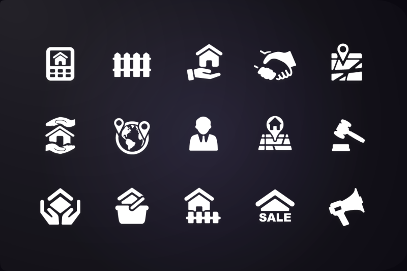 glyph-icon-real-estate-icons