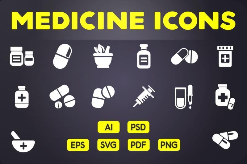 glyph-icon-medicine-icons-vol-2