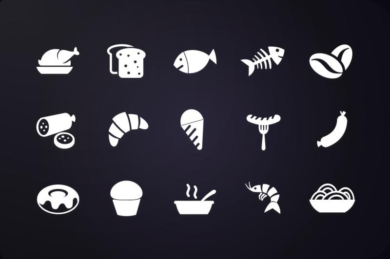 glyph-icon-food-icons-vol-1
