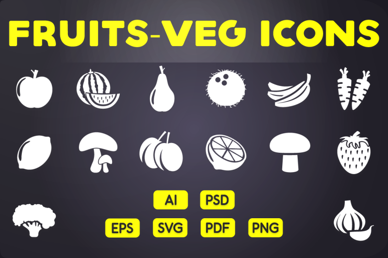 fruits-and-vegetables-icons-vol-1