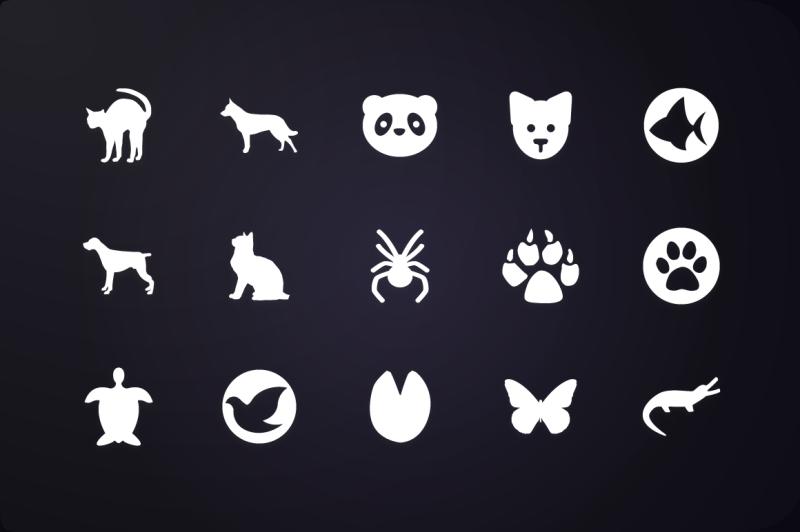 glyph-icon-pet-icons-vol-2