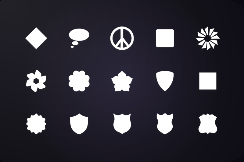 glyph-icon-shape-and-geometry-icons