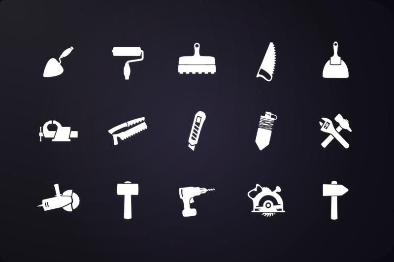 glyph-icon-tools-icons-vol-1