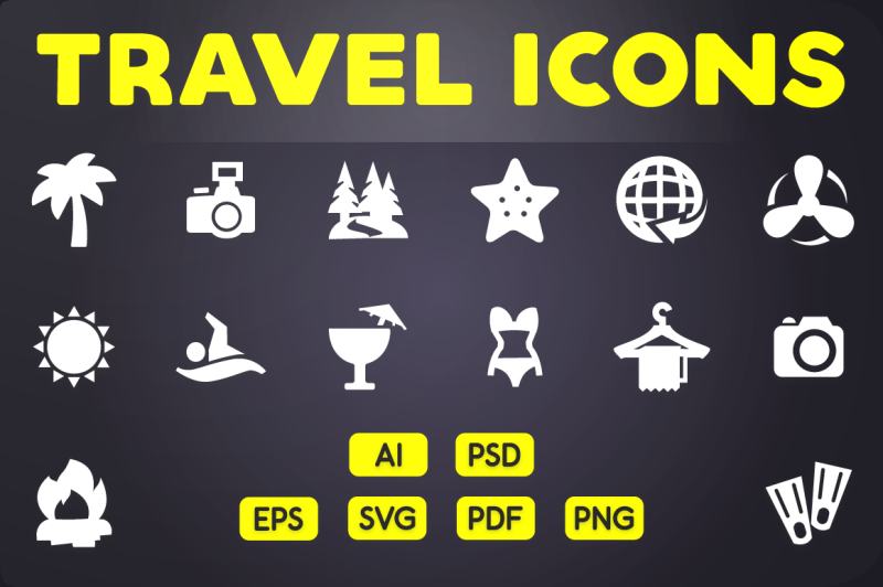 glyph-icon-travel-icons-vol-1