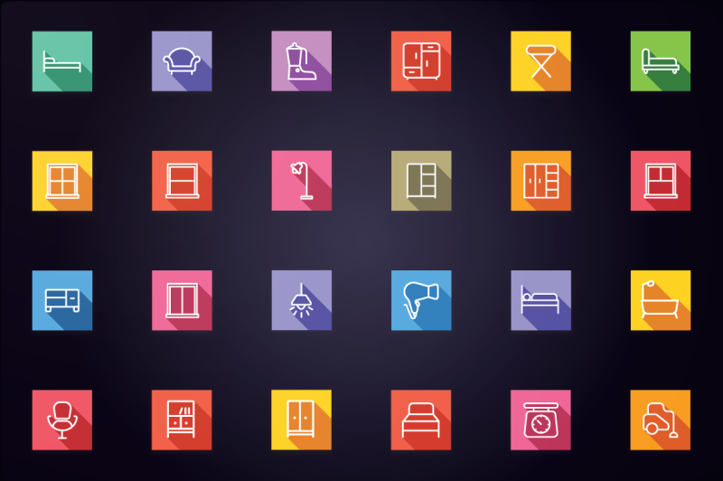 home-appliances-and-furniture-icons
