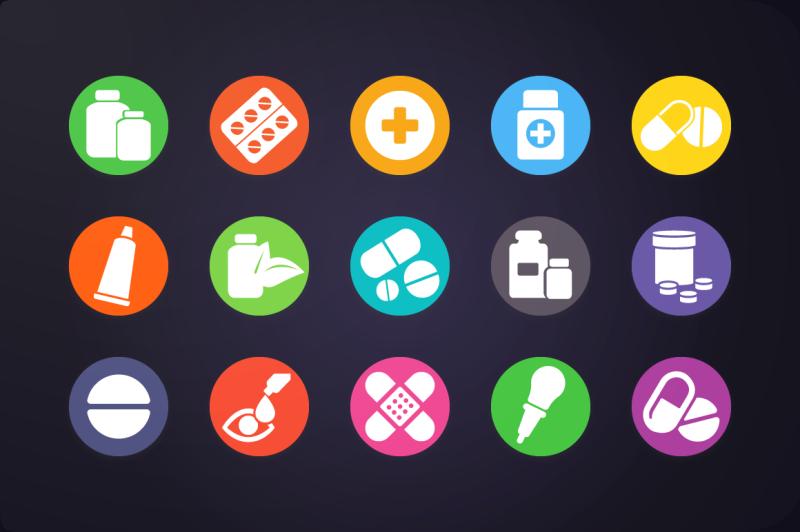 flat-icon-medicine-icons-vol-2