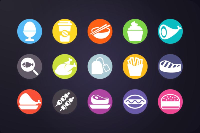 flat-icon-food-icons-vol-1