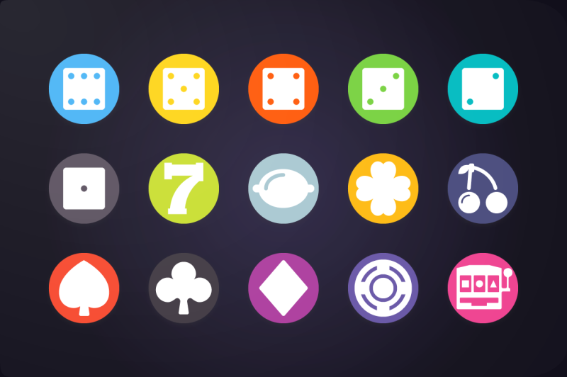 flat-icon-game-icons-vol-1