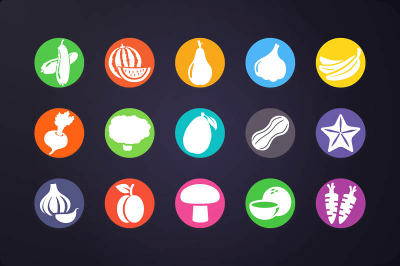 fruits-and-vegetable-icons-vol-1