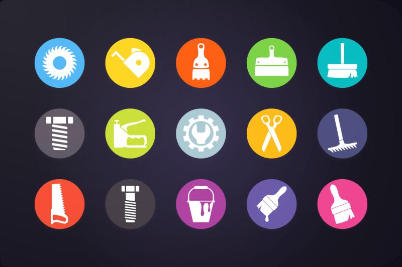 flat-icon-tools-icons-vol-1