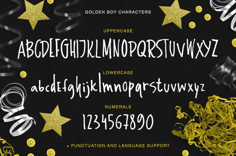 golden-boy-marker-font