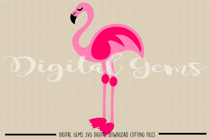 flamingo-svg-dxf-eps-png-files