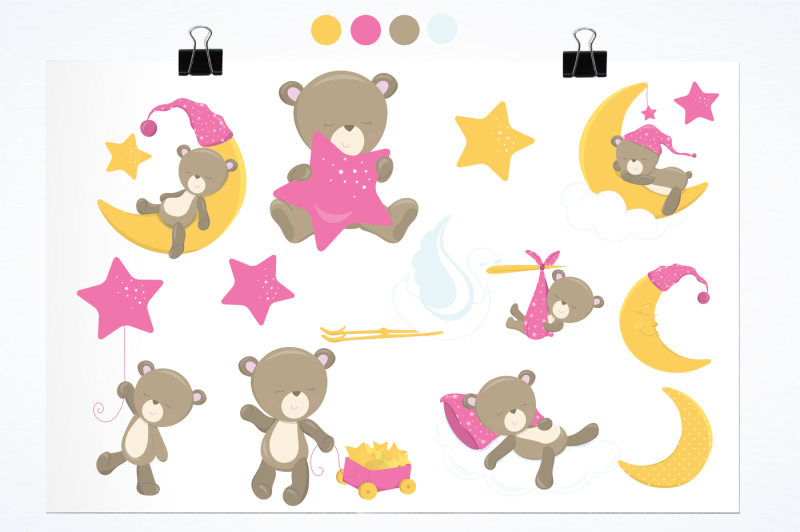 baby-bear-girl-graphics-and-illustrations