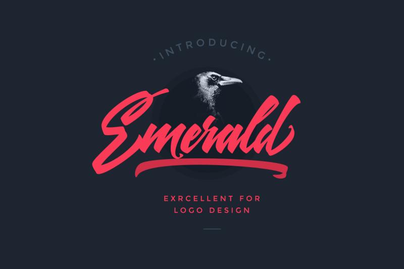 emerald-script-font