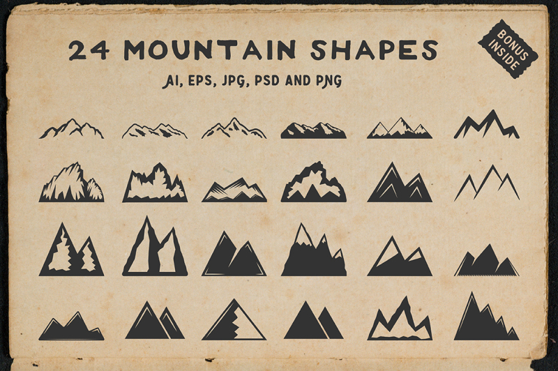 24-mountain-shapes