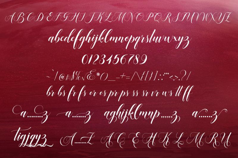 mangifera-font-script