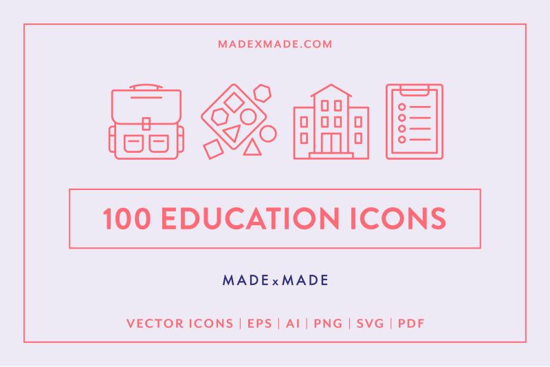 line-icons-ndash-education