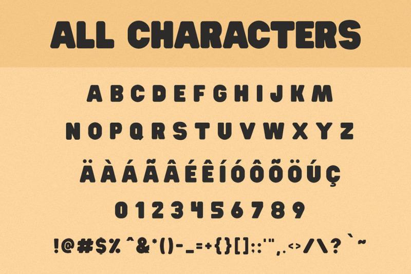 hit-and-run-font-fun-sans-serif-font